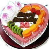 8寸水果蛋糕