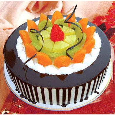 巧克力蛋糕/心怡