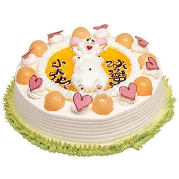 生肖蛋糕-兔