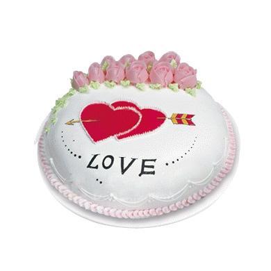 蛋糕心心相印