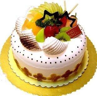 鲜奶水果蛋糕