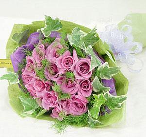 21枝紫玫瑰/爱你