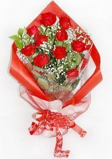 爱永相随\12支玫瑰