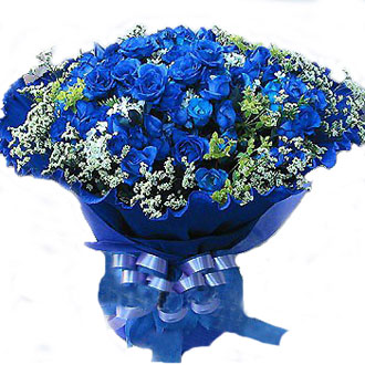 99枝蓝玫瑰/今生的约定