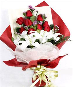 9枝玫瑰/火热的爱