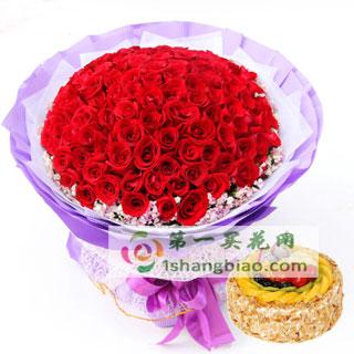 至死不渝 99朵红玫瑰