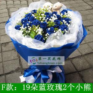 19朵蓝色妖姬(新)